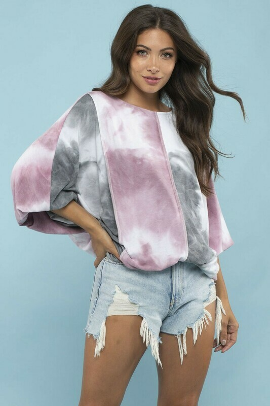 Cool Colored Tie Dye Top