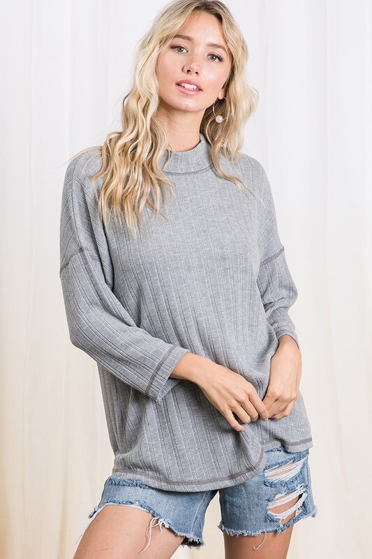 Grey Transition Sweater