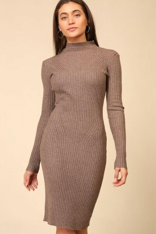 Mocha Sweater Dress