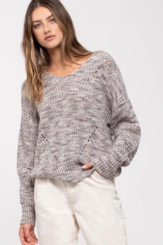 Criss Cross Back Sweater