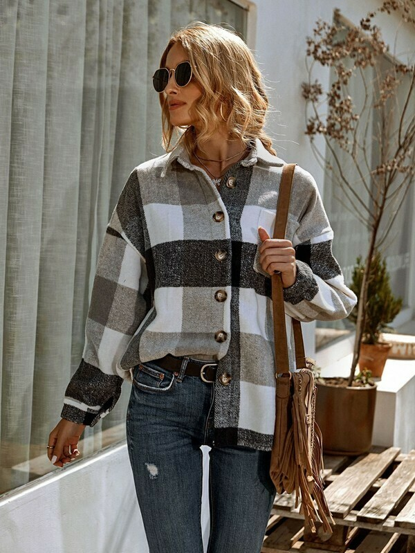 Flannel Shirt Jacket