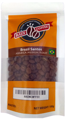 RAINCOFFEE Brazil Santos Medium Roast Arabica beans