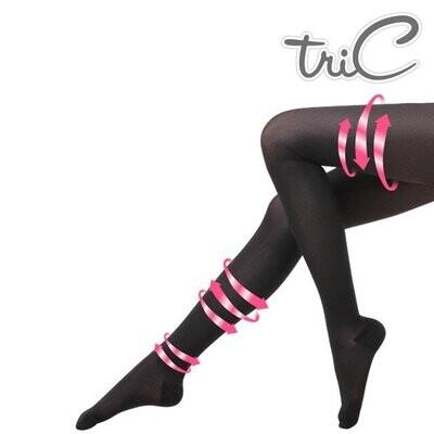 Tric - 200Den 包趾壓力褲襪 黑色