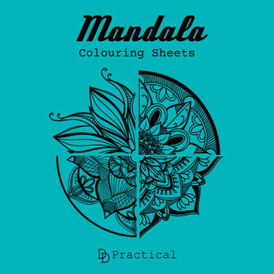 Mandala Colouring Sheets