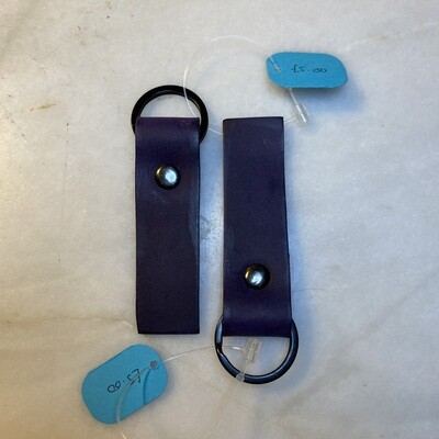 Ready Made Keyring Single Strip - Purple