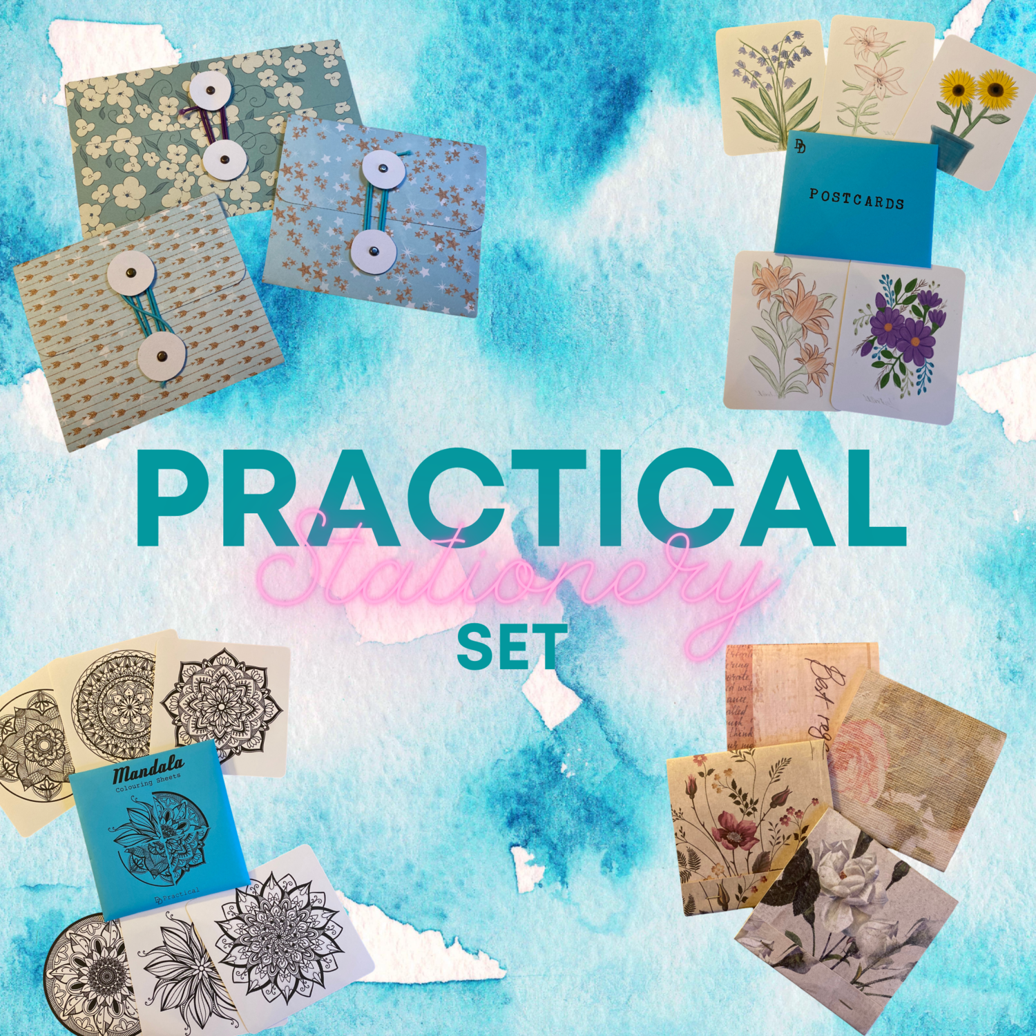 The Practical Stationery Set - 20% off Bundle