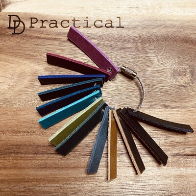Practical Leather Colour Swatch Samples