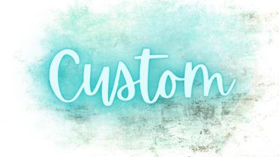 Custom Sticker Order