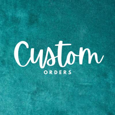 Custom Leather Order Slot