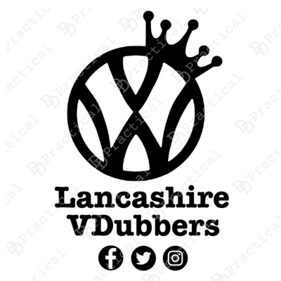 Lancashire VDubbers NEW Official Club Stickers