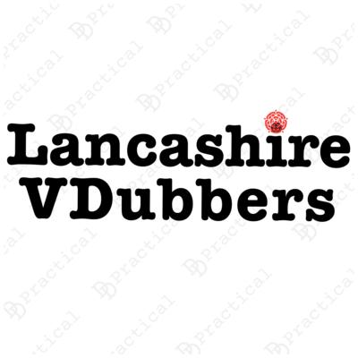 Lancashire VDubbers Rear Window Stickers