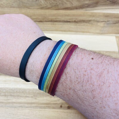 PRIDE Leather Band