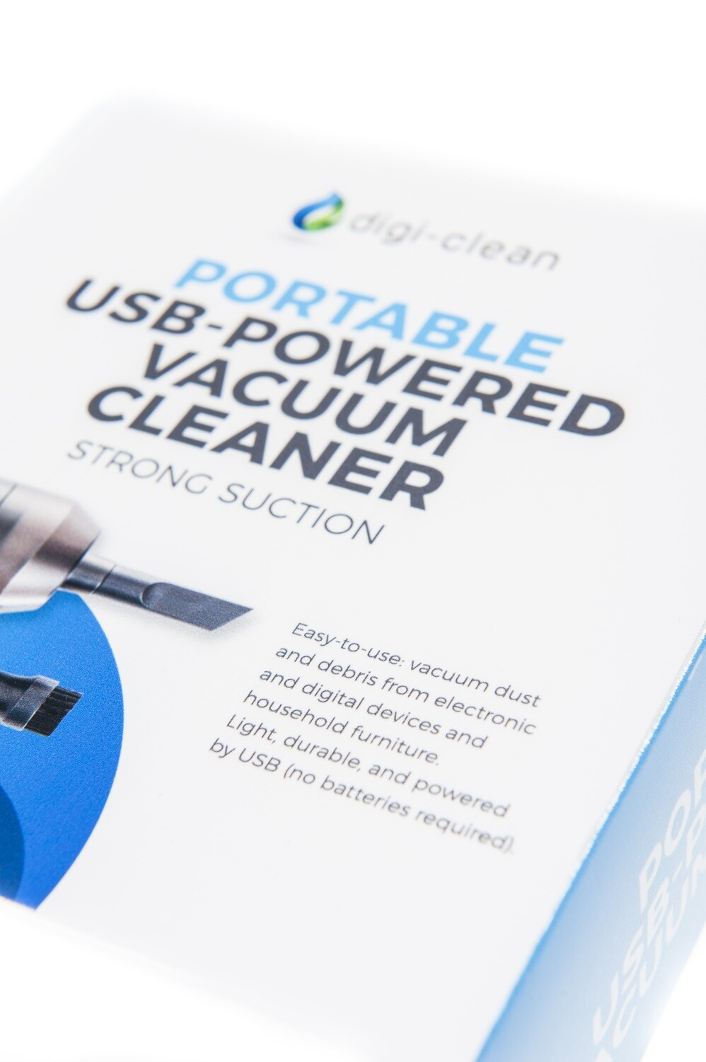 Portable USB-Powered Vacuum Cleaner