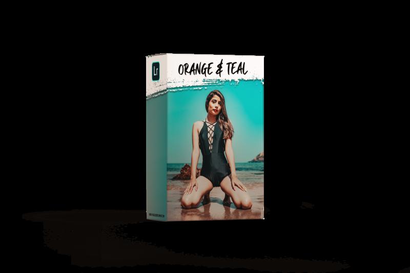 SG Orange & Teal 11 Premium Presets