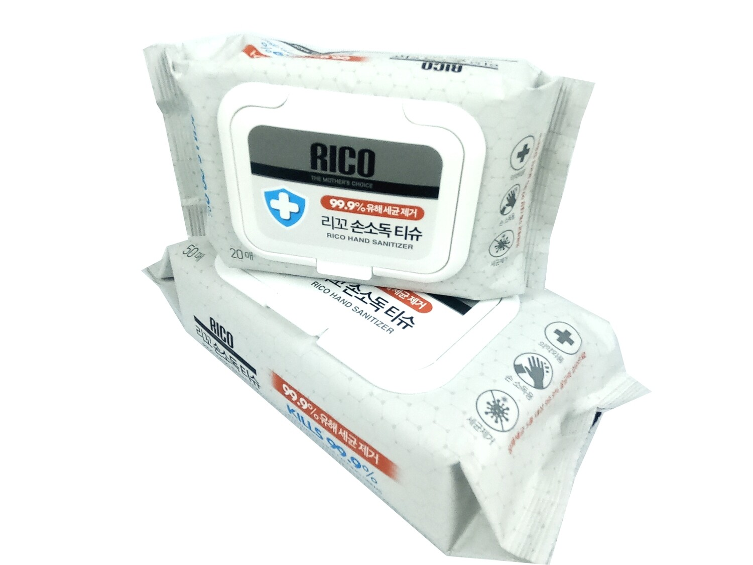 Rico Hand Sanitizer Wipes 50 Wipes