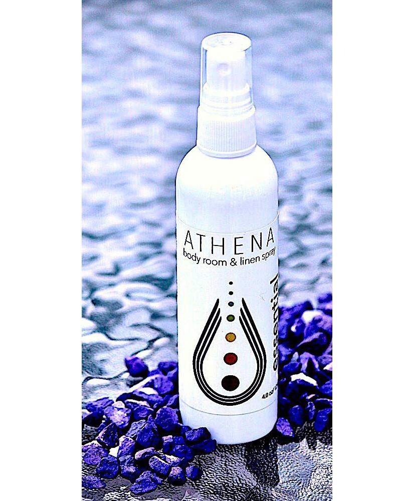 Athena Body, Room, Linen spray 4oz/120ml