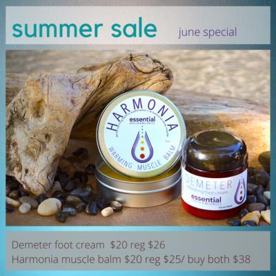 Summer Sale Demeter Peppermint Foot Cream & Muscle Balm