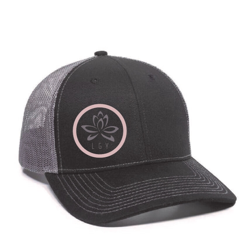 LGY Flat Brimmed Hat