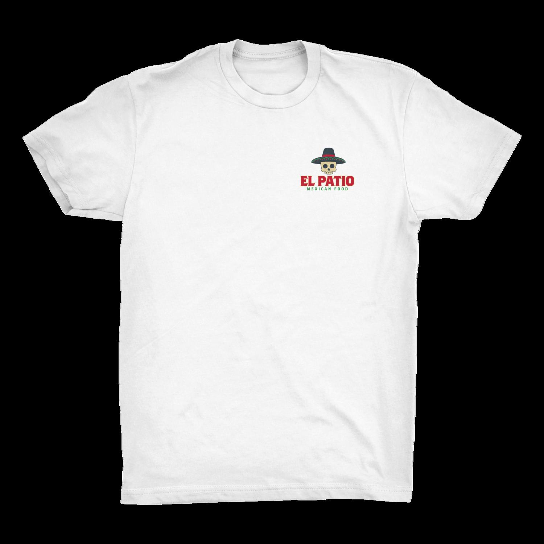 White Sugar Skull T-Shirt