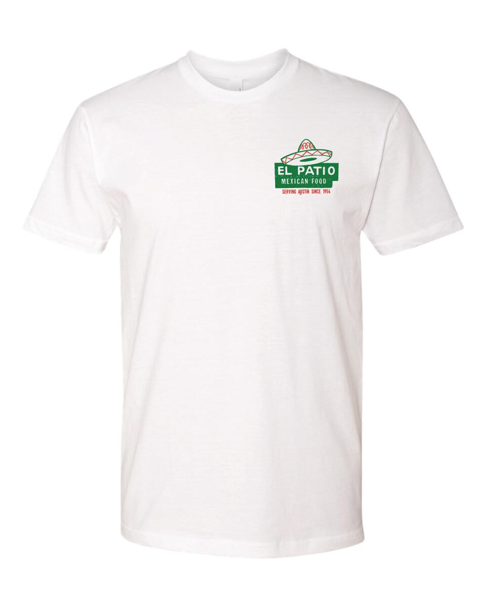 White El Patio Classic Logo T-Shirt