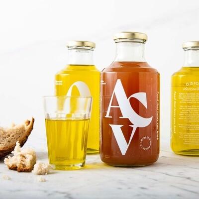 Extra virgin olive oil & Apple cider Vinegar