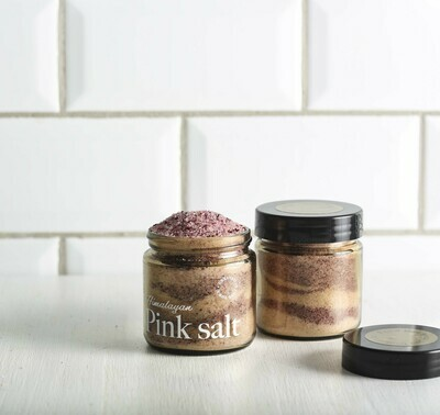 Pink Hymalayan salt