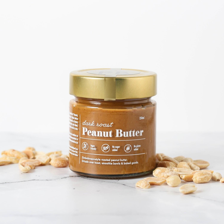 Dark roast peanut butter