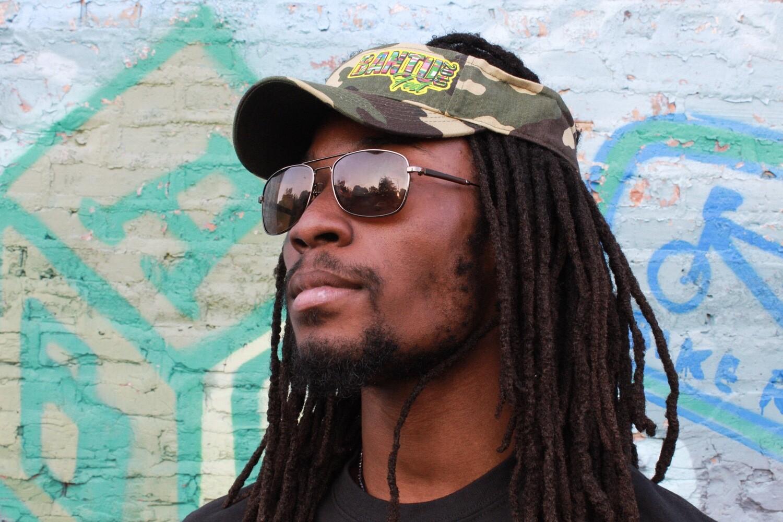 Bantu Fest Camo-Visor (Sun Hat)