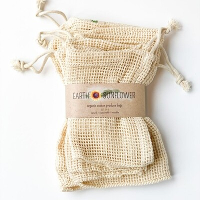 Organic Mesh Cotton Produce Bags PB-MESH