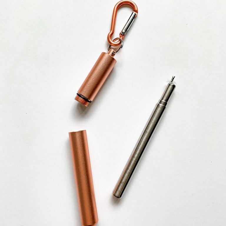 Telescopic Stainless Steel Straws