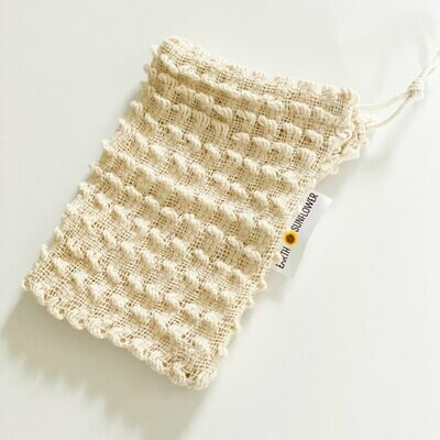 Organic Cotton Soap Saver Bag 00016