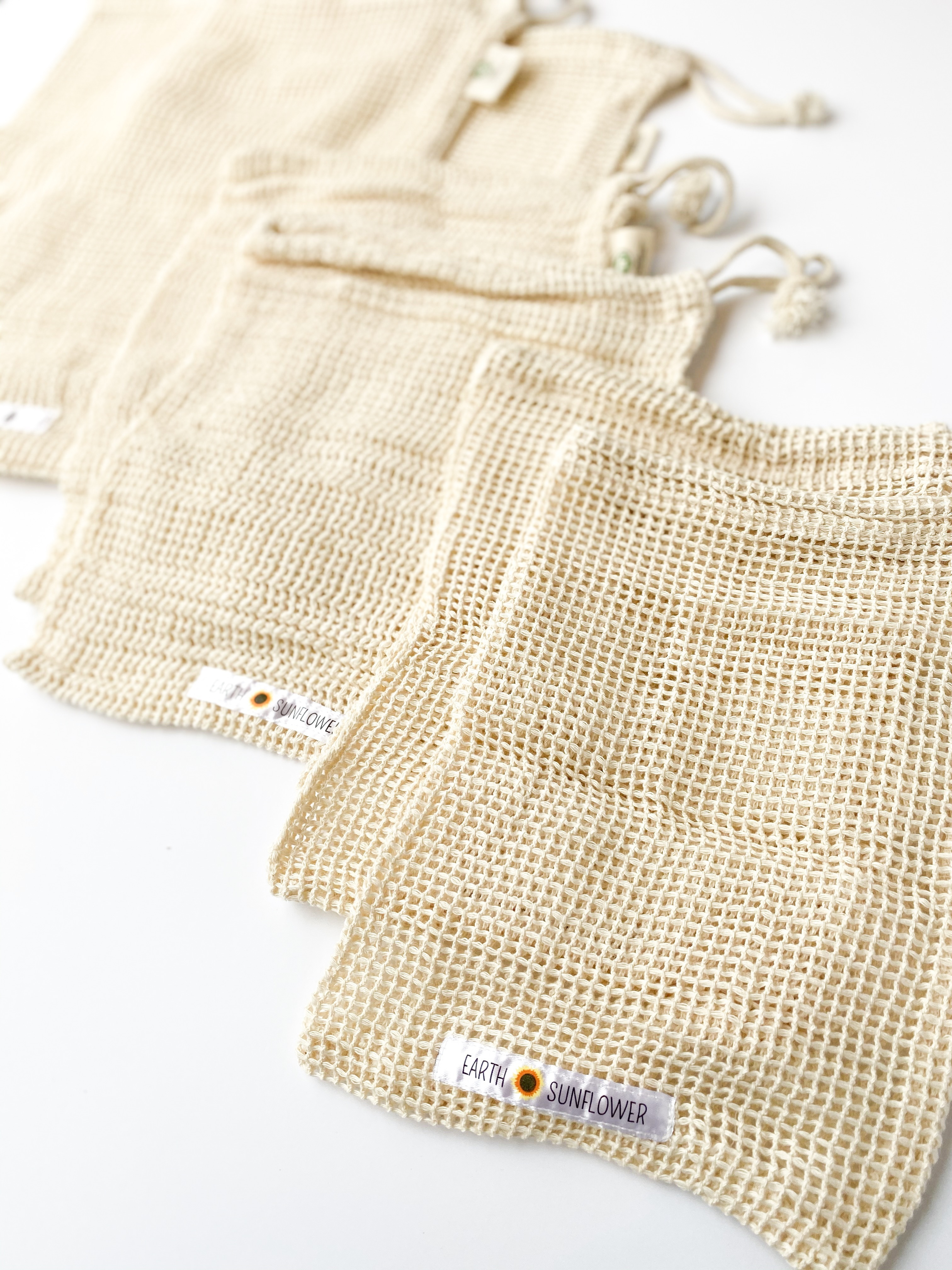 Organic Mesh Cotton Produce Bags