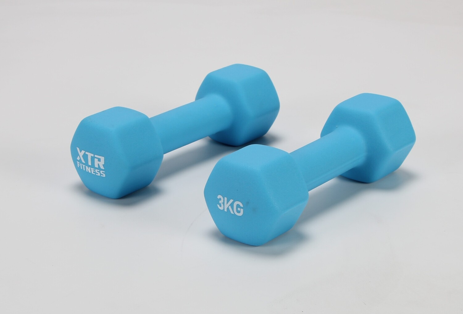 3KG XTR Neoprene Hex Dumbbells Pair