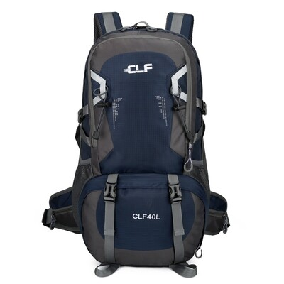 40L Light Weight Outdoor Backpack Navy Cycling, Running Hiking