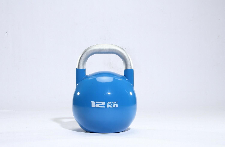 12KG AVEC Stainless Steel Competition Kettlebell Blue