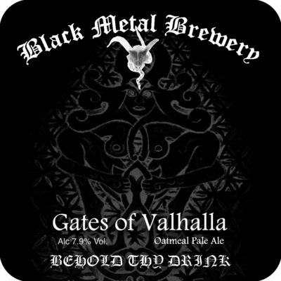 Gates of Valhalla : Oatmeal pale ale, 7.9% ABV : Case of 12 x 500 ml bottles