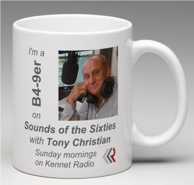 NEW Sounds of the Sixties B4-9ers Mug