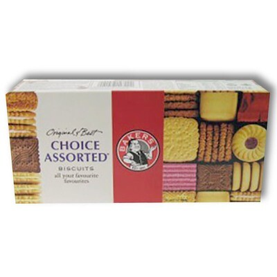Bakers Biscuits Choice Assorted 200g