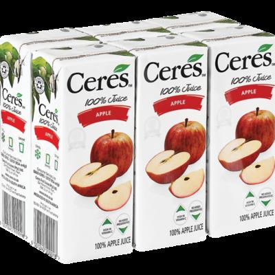 Ceres Juice Apple 6x200ml