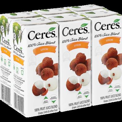 Ceres Juice Litchi 6x200ml
