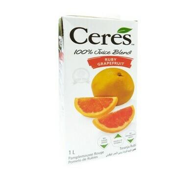 Ceres Juice Ruby Grapefruit 1lt