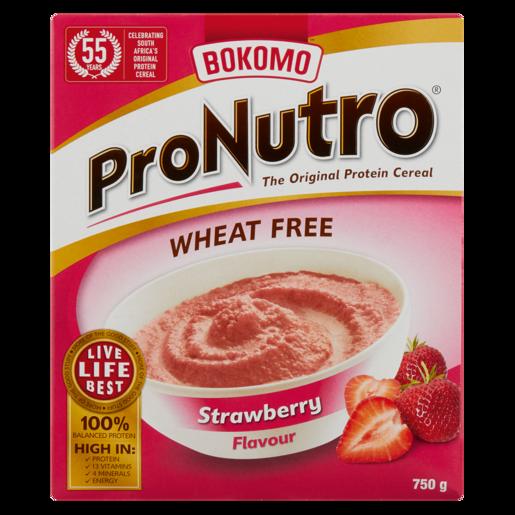 Bokomo ProNutro Strawberry Wheat Free 750g