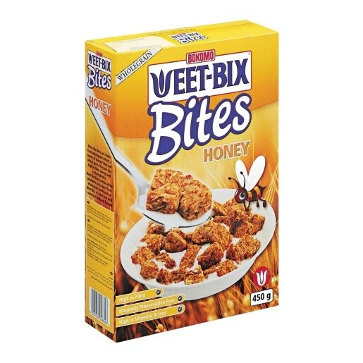 Bokomo Weetbix Bites Honey Flavoured 450g