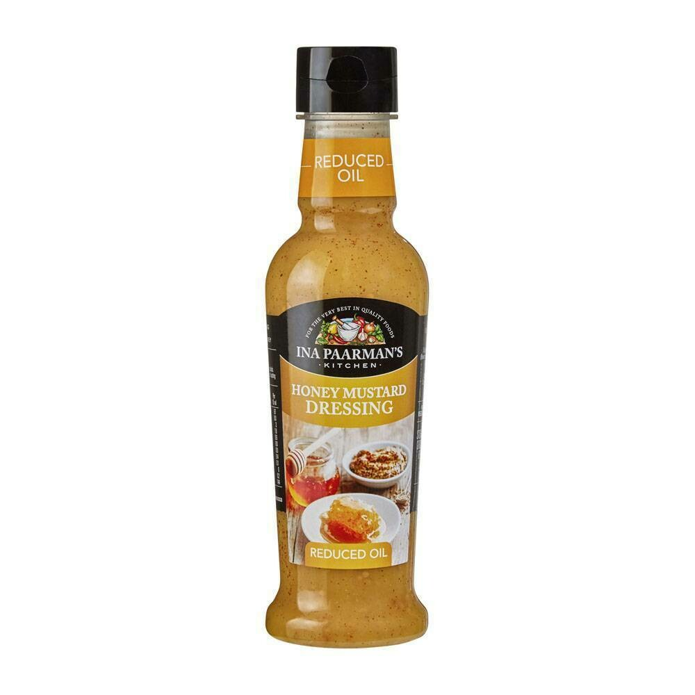 Ina Paarmans Honey Mustard Dressing Reduce Oil 300ml