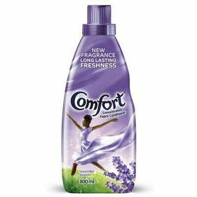 Comfort Fabric Conditioner Lavender Bloom Concentrated 800ml