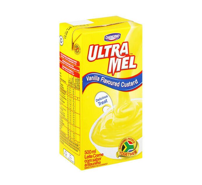 Danone Ultramel Custard Vanilla 500ml