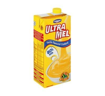 Danone Ultramel Custard Vanilla 1lt
