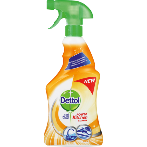 Dettol Kitchen Cleaner Lemon Zest 500ml