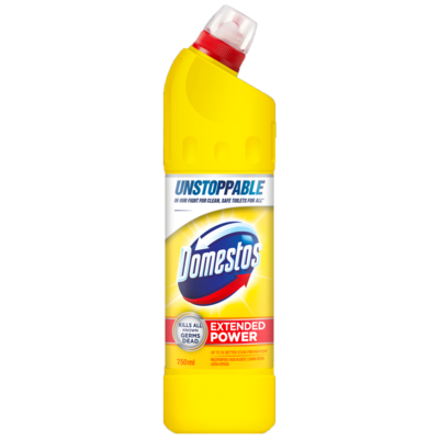 Domestos Unstoppable Extended Power Lemon Fresh 6x500ml