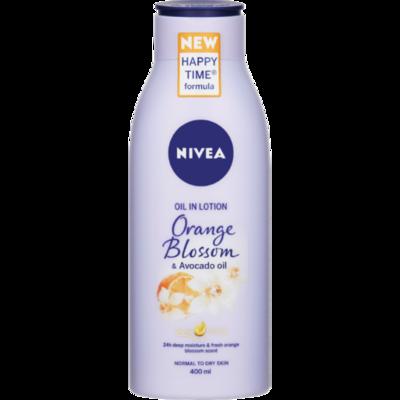 Nivea Body Lotion Orange Blossom Avocado Oil 400ml
